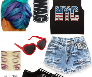 clothes, fashion, and nyc image