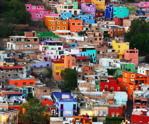 house, colors, and mexico image