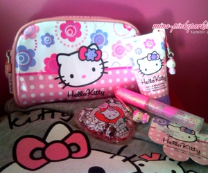 bag, makeup, and cosmetics image