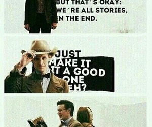 doctor who, matt smith, and story image