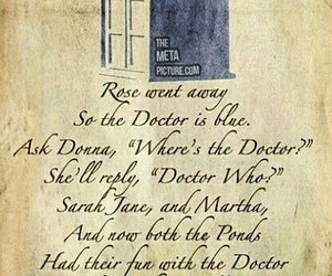 doctor who, tardis, and rose image