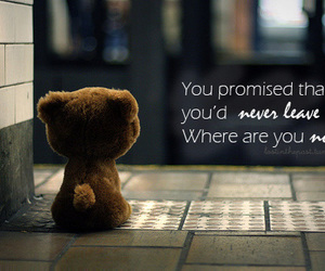 promise, quote, and sad image