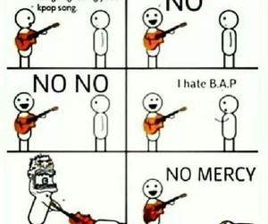 b.a.p, kpop, and no mercy image