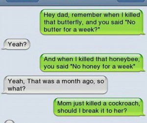 funny, dad, and text image