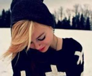 girl, beauty, and cool image