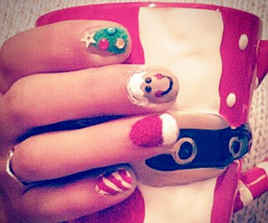 beauty, christmas, and claus image
