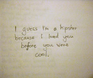 hipster, lame, and message image