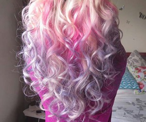 beautiful, ombre, and girl image