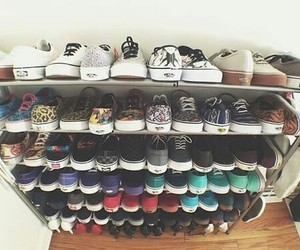 vans, shoes, and paradise image
