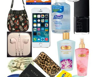 forever 21, whats in my bag, and smelling good image