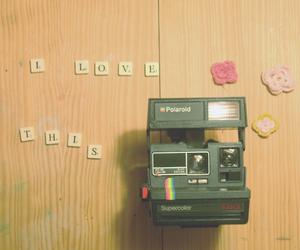 polaroid, love, and camera image