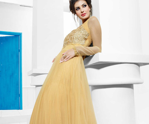 ball gown, dresses, and evening gown image