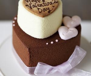cake, chocolate, and nice image