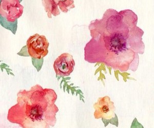 floral and wallpaper image
