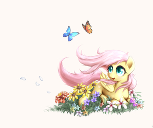 MLP, my little pony, and fluttershy image