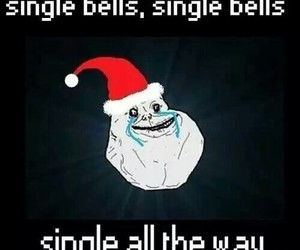 single, christmas, and funny image