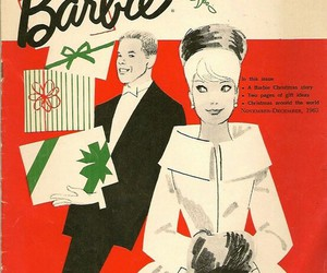 ken, vintage, and barbie image