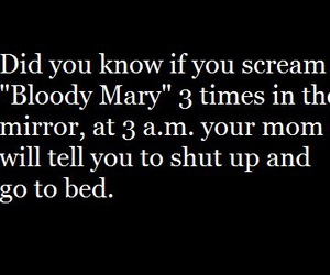 funny, bloody mary, and mom image