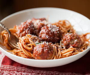beef, meat, and italian image