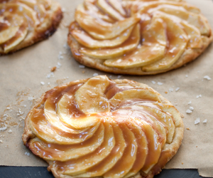 apple, tart, and salted caramel image