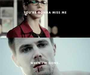 arrow, quotes, and television image