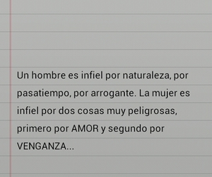 love, frases, and infiel image