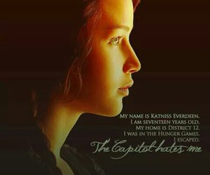 the hunger games, katniss, and 12 district image