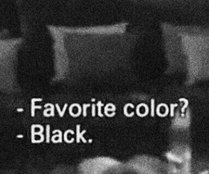 black, color, and fav image