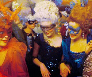 marie antoinette, party, and mask image