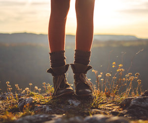 boots, flowers, and indie image