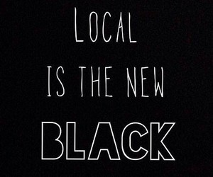 black, local, and new image