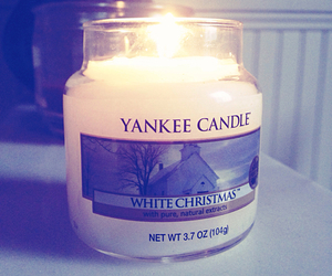 candle, yankee candle, and christmas image