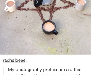 alchemy, coffee, and satan image