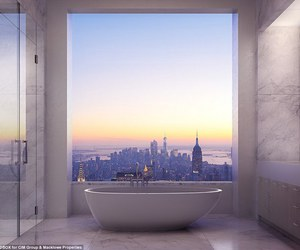 bathroom, luxury, and style image