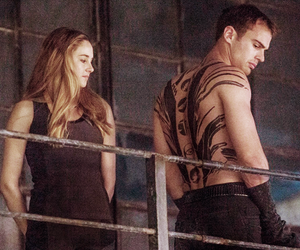 four, divergent, and Hot image