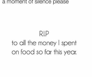 funny, food, and money image