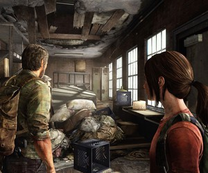 Joel and ellie image