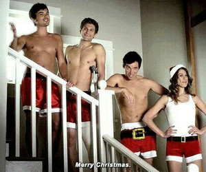 christmas, pll, and ezra image
