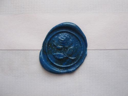 blue, rose, and vintage image