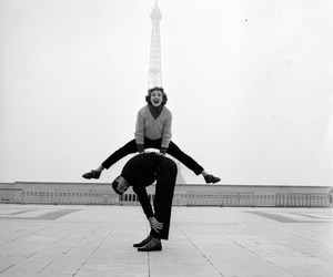 paris, black and white, and vintage image