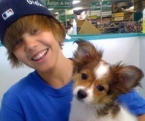 justin bieber, dog, and kidrauhl image