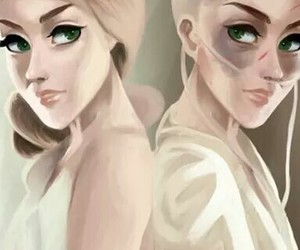 hunger games, fan-art, and the mockingjay image