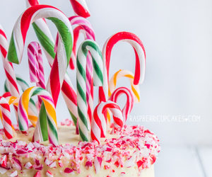 cake, christmas, and candy image