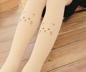 cats, fashion, and girls image