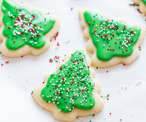 Cookies, christmas, and christmas tree image