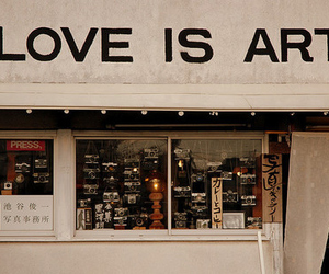 love, art, and photography image