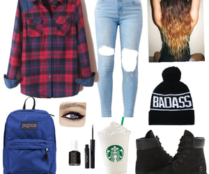 amazing, jeans, and starbuck image