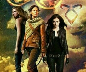 heroines, shadowhunters, and hunger games image
