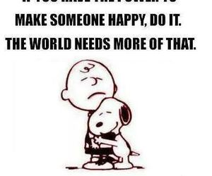 snoopy, quote, and happy image