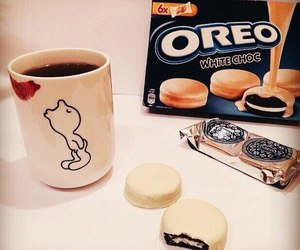 oreo and coffee image